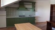 Cucina nel piano mansardato
